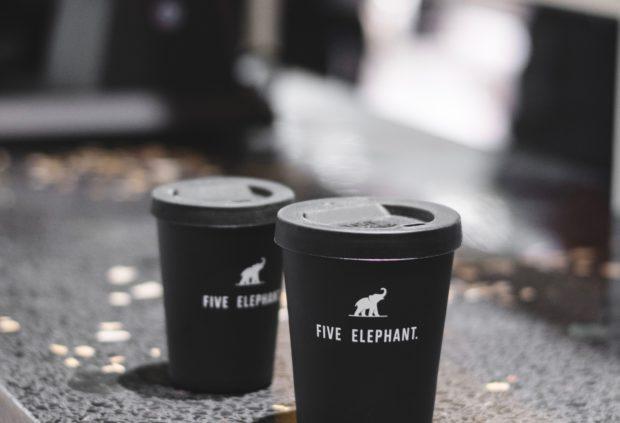 five elephant Siebdruck